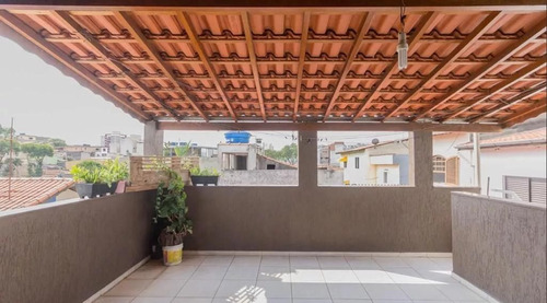 Imagem 1 de 22 de Casa Com 4 Dormitórios À Venda, 150 M² Por R$ 520.000,00 - Parque Novo Oratório - Santo André/sp - Ca0836