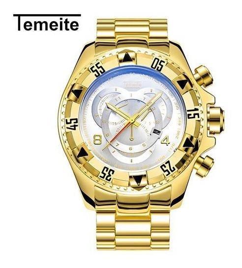 Relógios De Pulso Com Puceiras Banhadas A Ouro E Prata