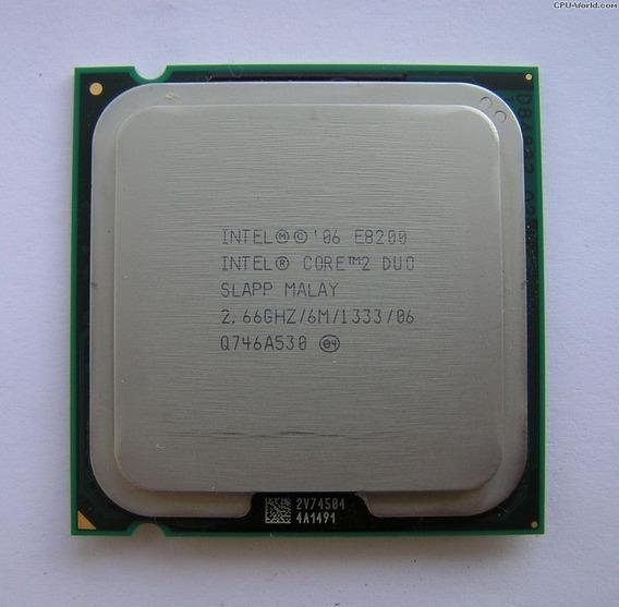 Processador Intel Core 2 Duo 2.66 Ghz E8200 Com Garantia
