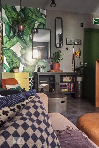 Apartamento Para Aluguel - Centro, 2 Quartos, 52 - 893108516