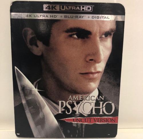 Imagen 1 de 1 de American  Psycho  ( 2000 / 2018  4k Uhd + Bluray )