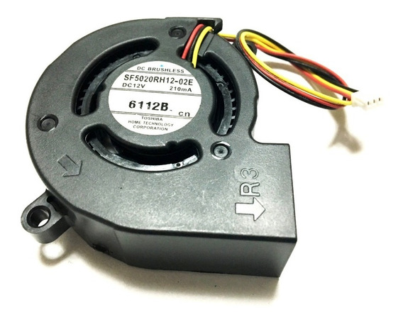 Cooler Da Fonte Projetor Epson X10+, S10+, S8+ & Compatíveis