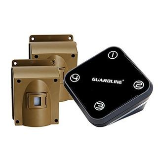 Guardline Wireless Driveway Alarm W Kit De Dos Sensores Mejo