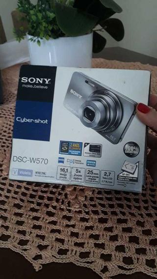 Câmera Sony Cyber Shot Dsc-w570