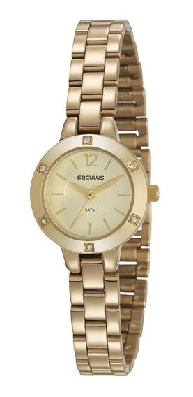 Relógio Seculus Feminino 2 Anos Garantia 23615lpsvds1