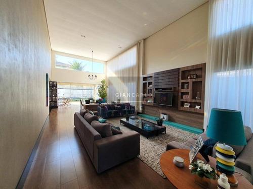 Casa Com 3 Dormitórios À Venda, 266 M² Por R$ 1.750.000,00 - Figueira Garden - Atibaia/sp - Ca0419