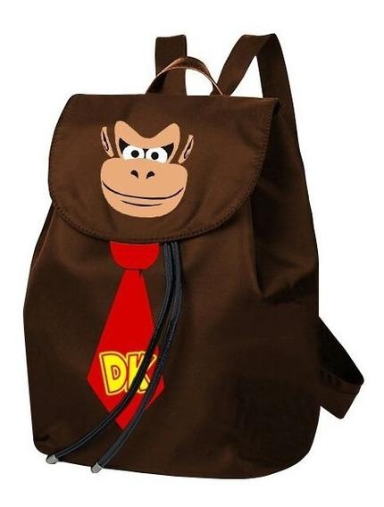 Mochila Macaco Donkey Kong Estilo Saco,varias Cores (barato)