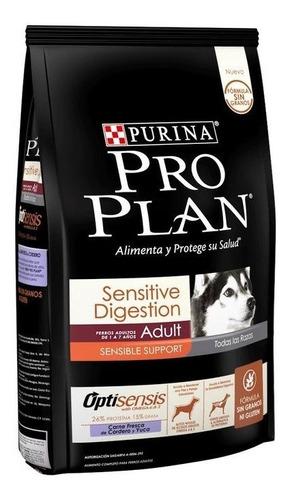 Imagen 1 de 3 de Proplan Adulto Cordero Digestión Sensible 10 Kg Fórmula Sin Granos Ni Gluten