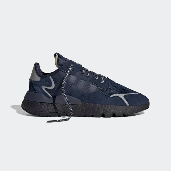 Zapatillas adidas Nite Jogger Azul Envio Rapido Caba Gcba
