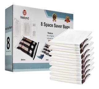 Bolsas De Vacío Roll Up Welland, 8 Bolsas R1