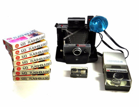 Polaroid Land Camera 100 - Kit Completo- Última Oferta