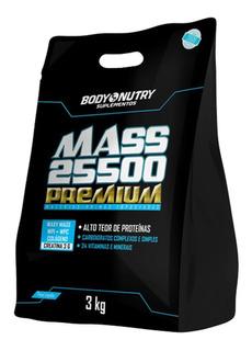 Mass Premium 25500 - 3.000g Milk Shake Morango - Body Nutry