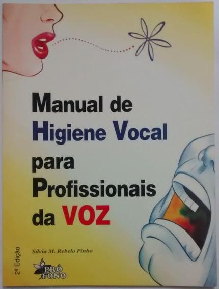 L3857 Manual De Higiene Vocal Para Profissionais Da Voz 1999