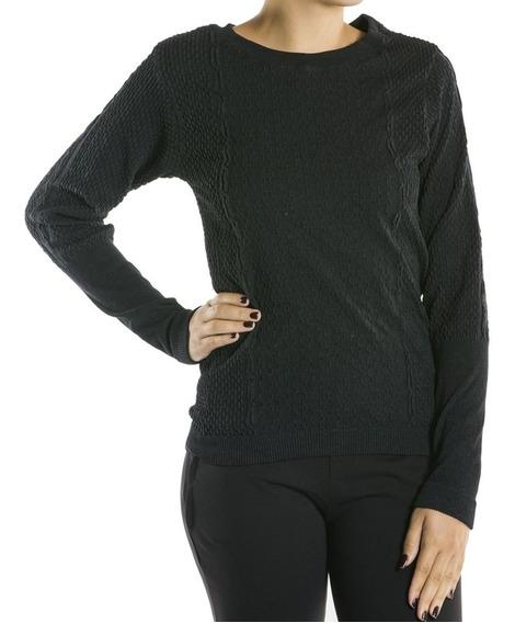 Blusa Sueter Feminina Sem Costura Linha Loba Trend