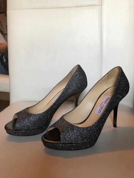 Zapatos Jimmy Choo Originales Mex 24.5 O 37.5