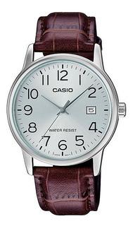 Reloj Casio Hombre Mtp-v002l-7b2 Agente Oficial Caba