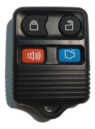 Carcasa Llave Ford Eco Sport 4  Botones