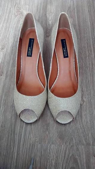 Sapato Dourado - Lindo !