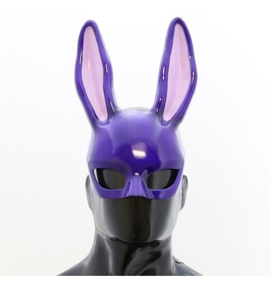 Mascaras De Conejo Sexy Cromada Dama