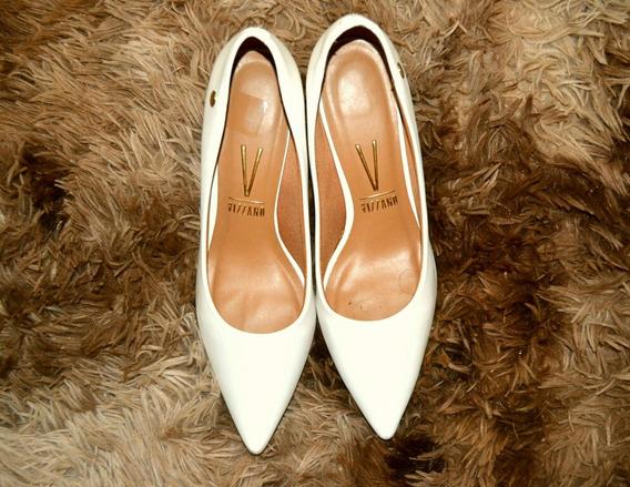 Sapato Scarpin Branco Vizzano