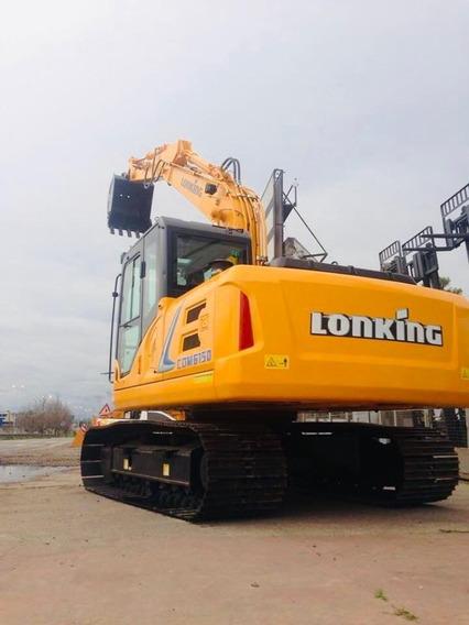 Excavadora Lonking Cdm6150 14tn, Balde 0.56m3, Motor Cummins
