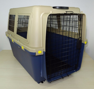 Kennel Transportador Piso Impermeable L80 Cumple Iata