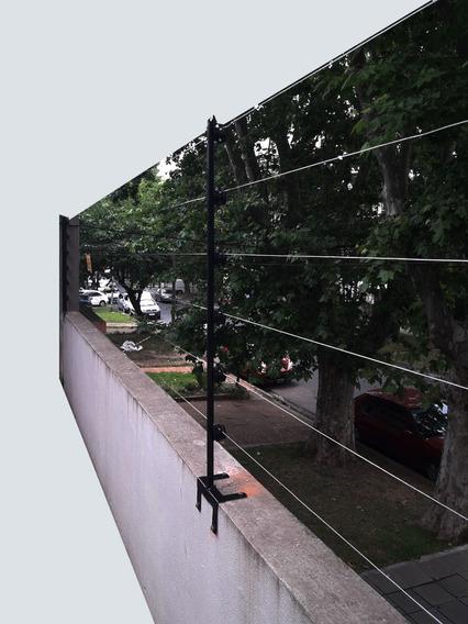 Cerco Eléctrico 6 Hilos Kit 40 Mts Lineales P/instalar