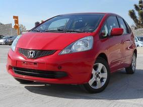 Honda Fit Lx 2009 Rojo