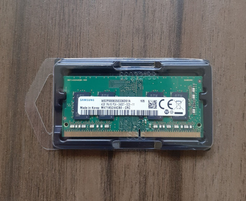Memória Ram Notebook 4gb 2400mhz Samsung M471a5244cb0-crc