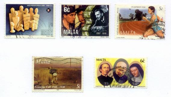 Malta - 2 Séries De Selos - N471