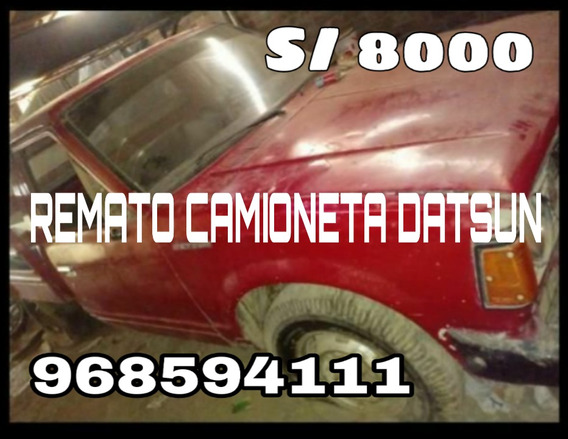 Datsun . .