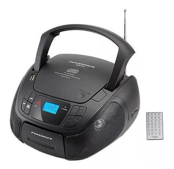 Radio Powerpack Cdbt-818 Bluetooth Fm Mp3 Cd Bivolt