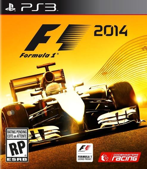 Formula 1 F1 2014 Ps3