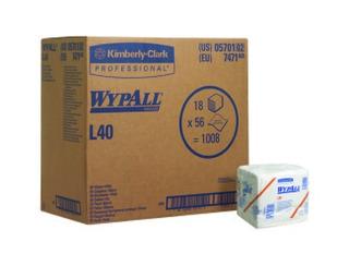 Wypall L40 Desechable Toallas Secado [caja Con 18 Paq 56 Pz]