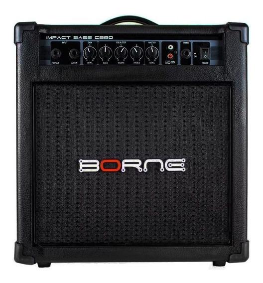 Amplificador Combo Borne Impact Bass Cb80