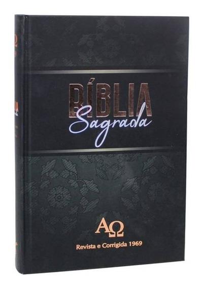Bíblia Sagrada Rc 1969 A Revista E Corrigida Capa Dura