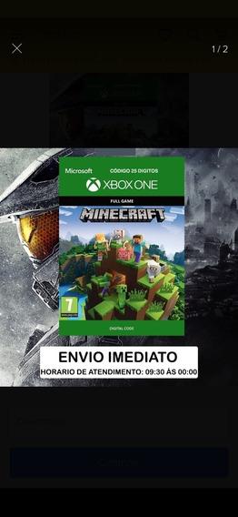 Menicraft Xbox One Mídia Digital Código 25 Digitos