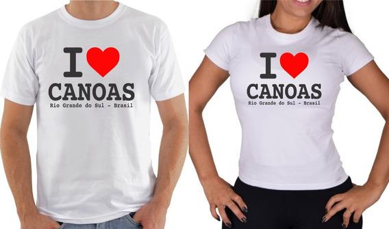 Camiseta I Love Canoas