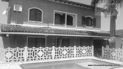 Enseada - Ótima Casa Com Piscina, Churrasqueira, 04 Dormitórios E 04 Vagas. - Ca0072