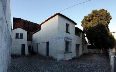 Casa Para Alugar, 470 M² Por R$ 5.500/mês - Centro - Fortaleza/ce - Ca0852