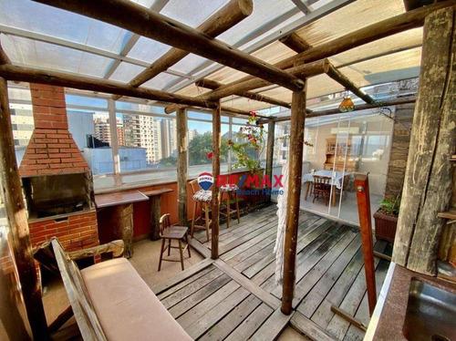 Imagem 1 de 30 de Cobertura Com 3 Dormitórios À Venda, 153 M² Por R$ 850.000,00 - Praia Das Astúrias - Guarujá/sp - Co0337