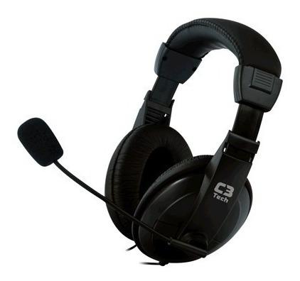 Fone De Ouvido C3 Tech C/ Microfone Voice Comfort Mi-2260arc