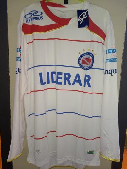 Camiseta De Argentinos Juniors Mangas Largas 2010 Nueva