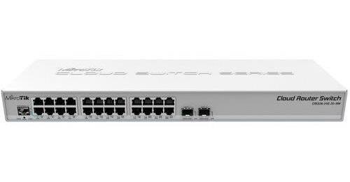 Cloud Smart Switch Mikrotik Css326-24g-2s+rm 24 Puertos Gigabite + 2 Sfp+