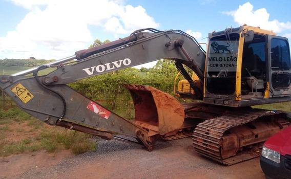 Escavadeira Volvo L140c - Ano 2008 - Revisada Impecável