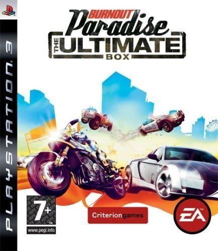 Burnout Paradise The Ultimate Box Ps3 - Leia Descrição
