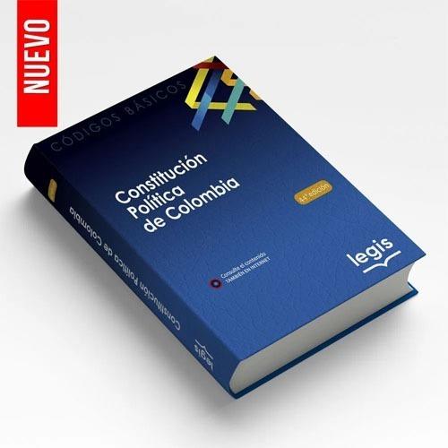 Imagen 1 de 1 de Código Básico Constitución Política De Colombia.ed 44 2021-i