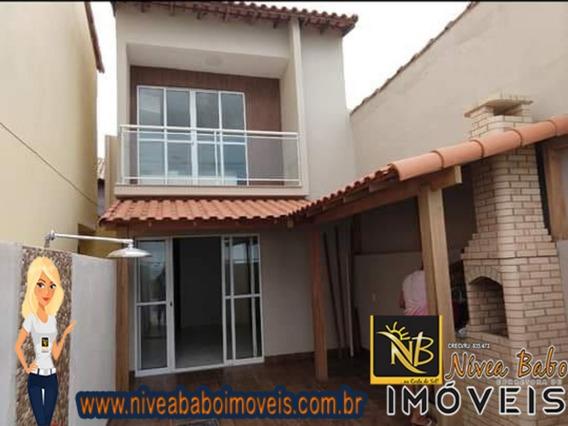 Ótima Casa Duplex De Frente Para O Mar Em Cabo Frio, Unamar, Região Dos Lagos. - Vcac 254 - 34208039