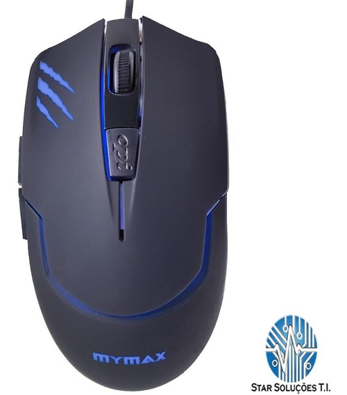 Mouse Gamer Tiger 2400 Dpi Com Led