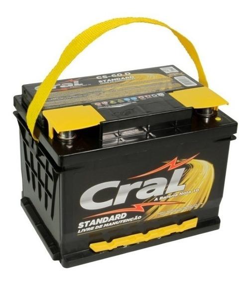 Bateria Cral Standard 60 Amperes - Fox - Astra -